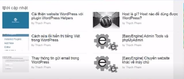 Cách lấy bài từ website khác vào wordpress