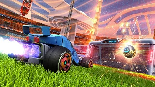Game Turbo League đá bóng kết hợp đua xe