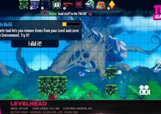 LevelHead sẽ cho bạn nhiều cảm xúc hấp dẫn