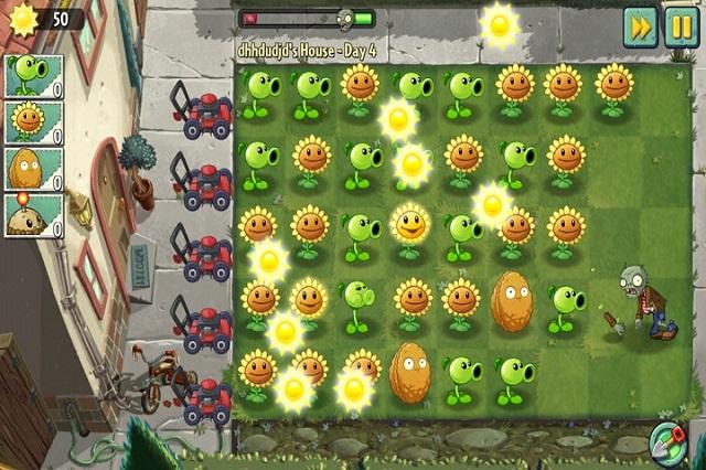 Hướng dẫn cách hack plant vs zombie 2