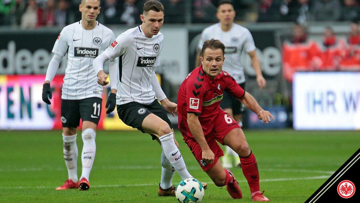 Phong độ của Eintracht Frankfurt đang sụt giảm