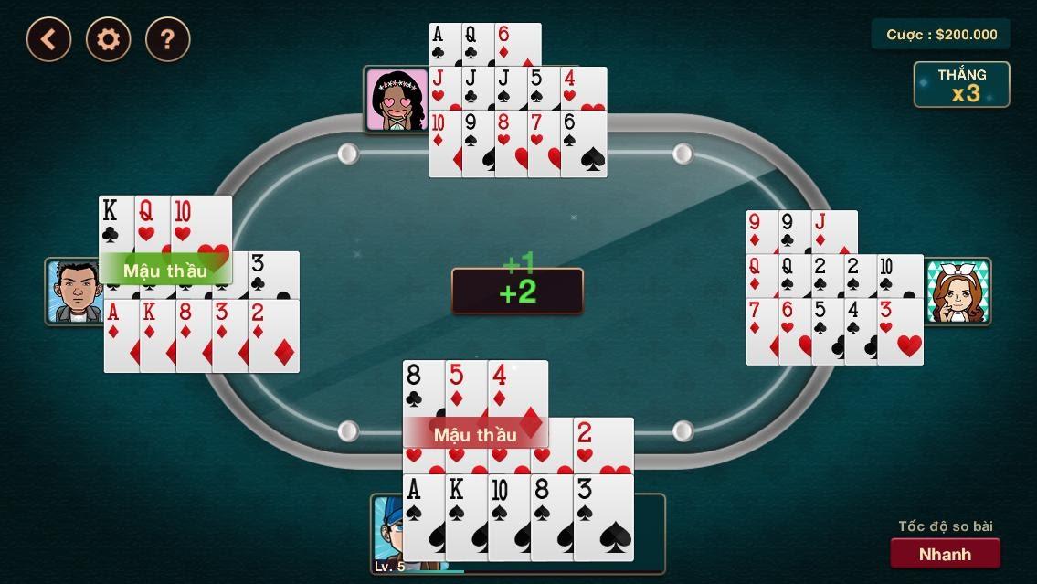 Game mậu binh online là một trong những game bài online được nhiều tay chơi yêu thích