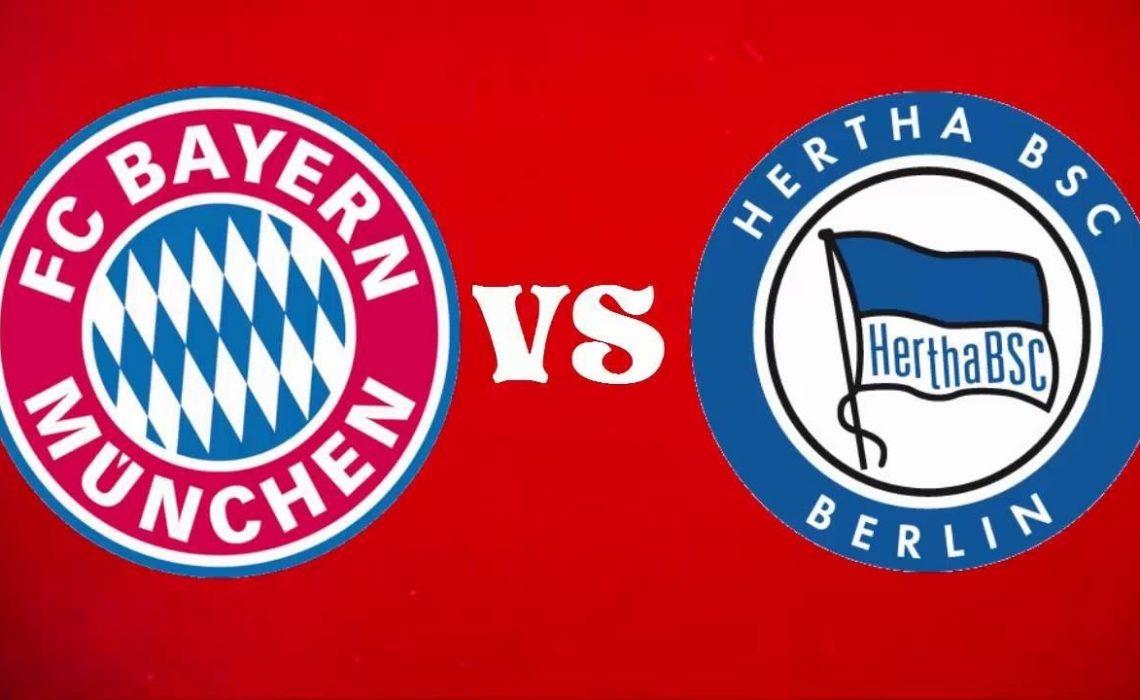 Nhận định trận đấu Bayern Munich vs Hertha  23h00 ngày 04/10
