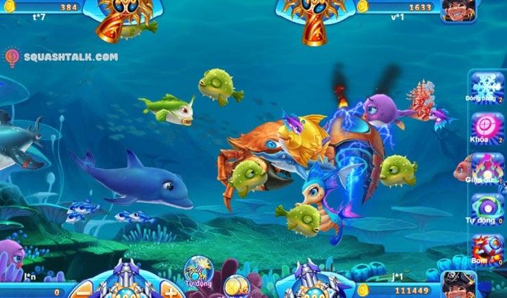 Hướng dẫn cách chơi game bắn cá ăn tiền đơn giản và dễ hiểu nhất