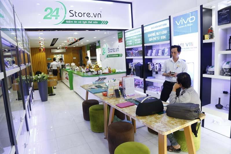 24hStore cam kết mang đến cho người dùng những sản phẩm với mức giá ưu đãi, chất lượng cao và phong cách tận tình khi phục vụ
