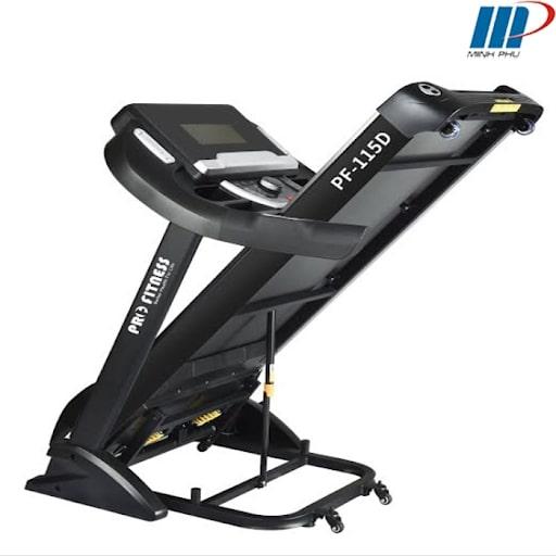Máy chạy bộ Pro Fitness PF-115D được bán tại Minh Phú